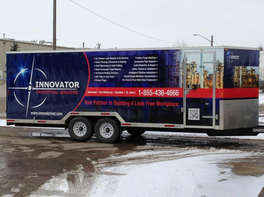 Innovator Industrial Services trailer